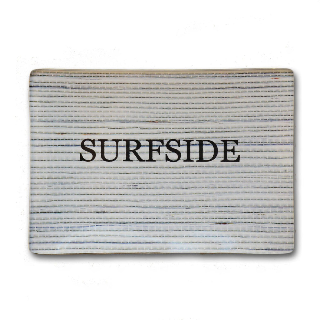 Surfside Plate 3.5x5 - Blue/Gray Grass