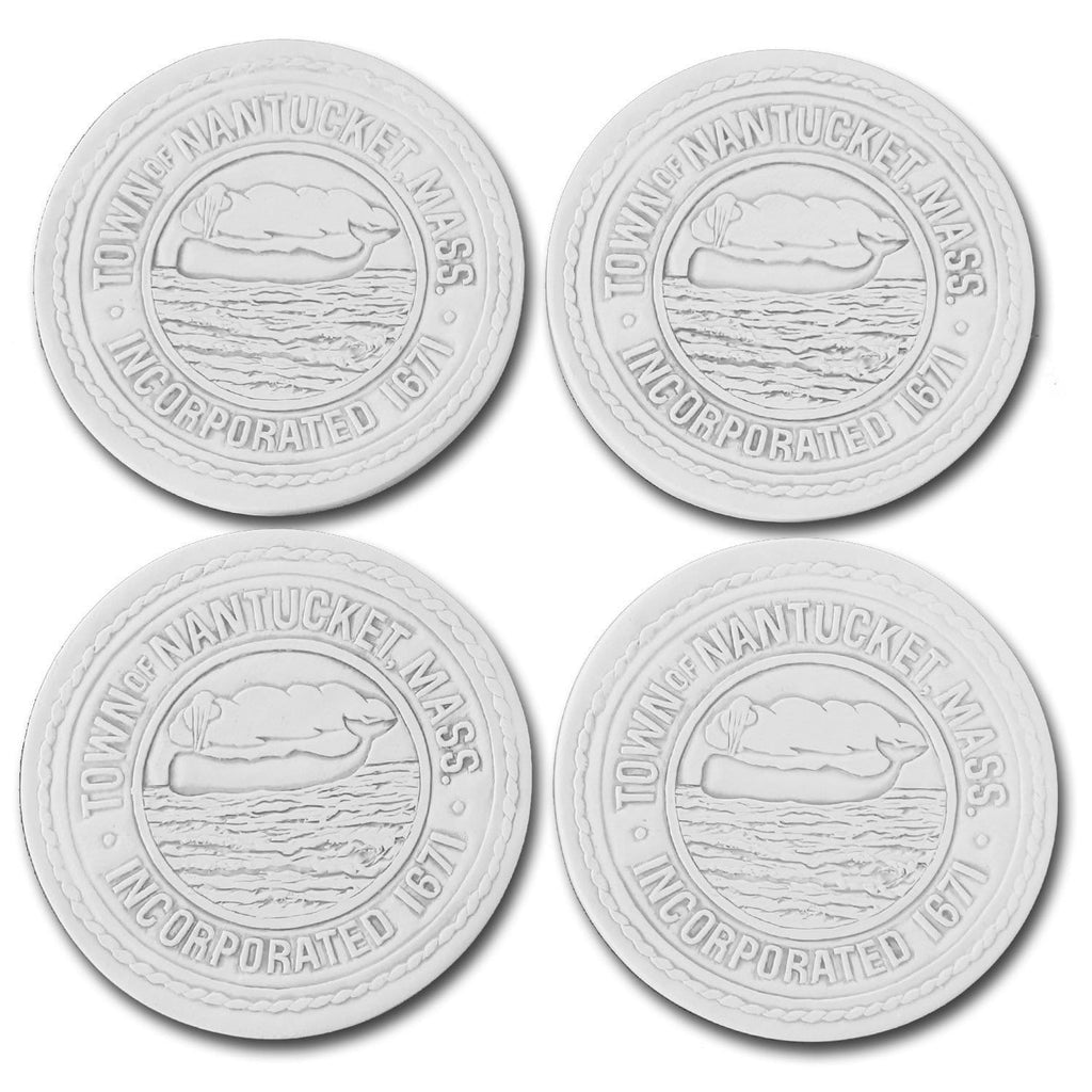 Nantucket Town Seal Coasters