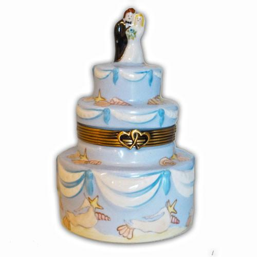 Nantucket Wedding Cake Limoges Box