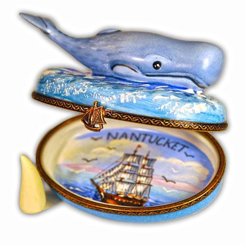 Nantucket Whale Limoges Box 2010