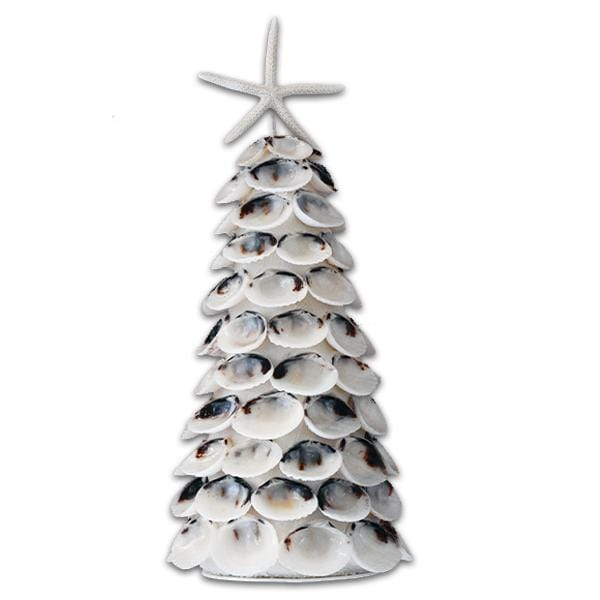 White Clam Shell Holiday Tree