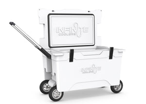 Infinite All Terrain Seires Cooler with four wheels