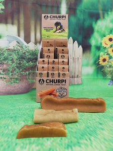 Churpi Original. Quesitos del Himalaya. Snack dental duradero