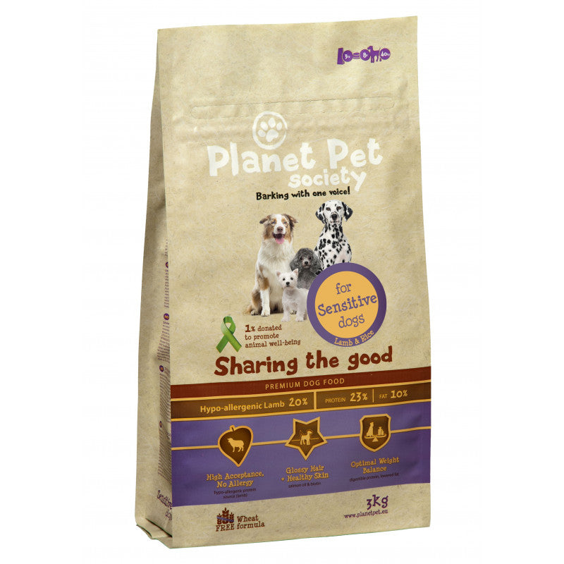 Planet Pet Sensitive Cordero y Arroz - Comida Barf Valencia