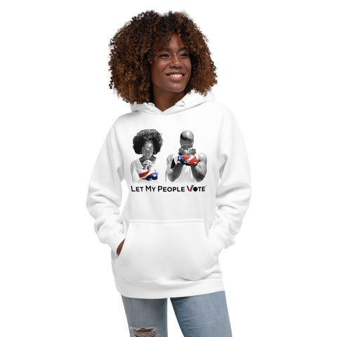 LET MY PEOPLE VOTE® Unisex Hoodie