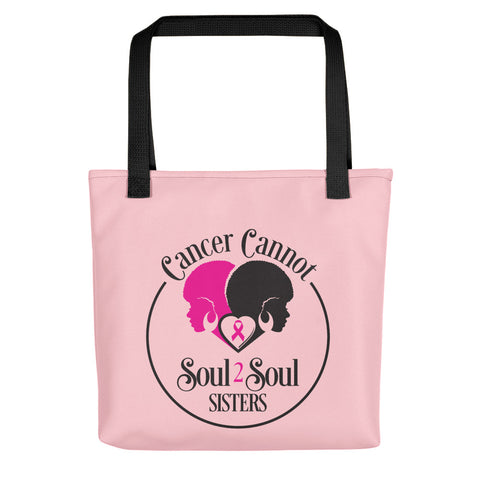 Cancer Cannot 💗Tote Bag