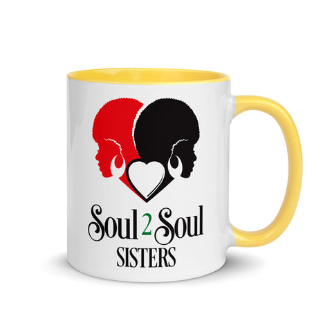Soul 2 Soul Sisters Mugs with Color Inside