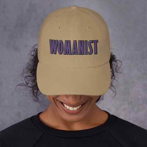 WOMANIST 💜Embroidered Hat, Unisex
