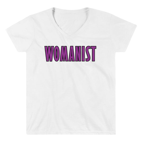WOMANIST 💜Womxn's V-NECK Shirt