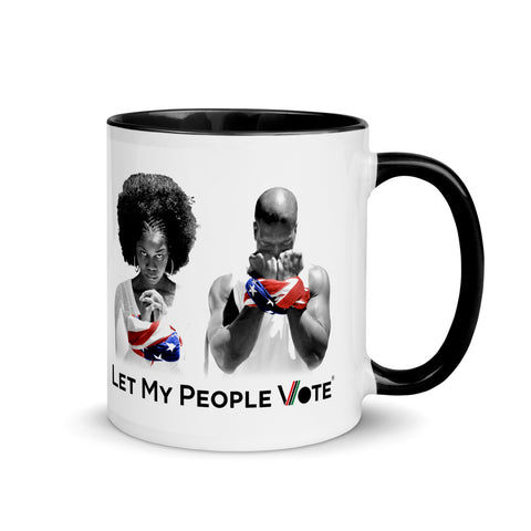 LET MY PEOPLE VOTE® Mugs with Color Inside