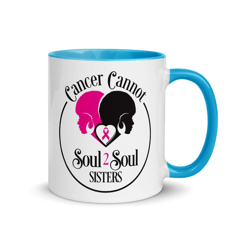 Cancer Cannot 💗Mugs with Color Inside