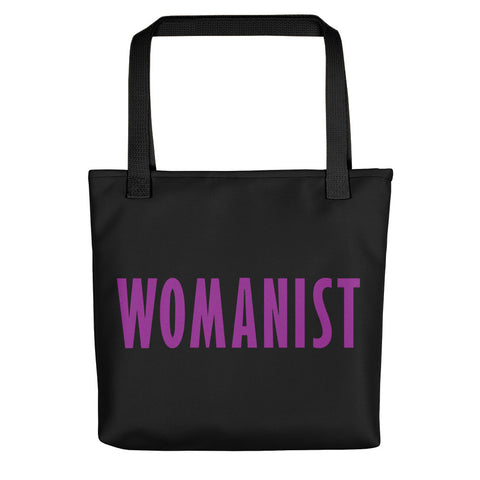 WOMANIST 💜Beautiful Black Tote Bag