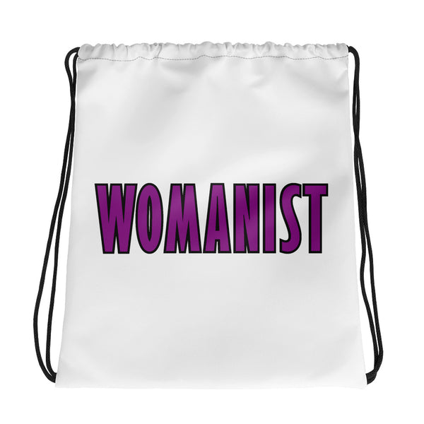 WOMANIST 💜Drawstring Bag