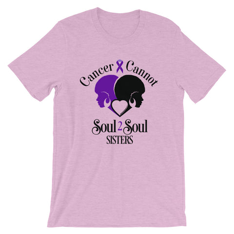 Cancer Cannot 💜Lavender = Survivors of ALL Cancers 💜Unisex CLASSIC T-Shirt