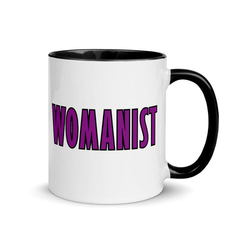 WOMANIST 💜Mugs with Color Inside