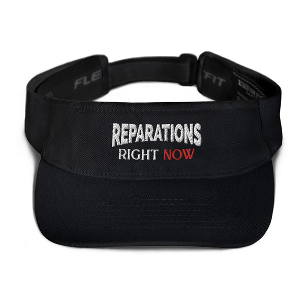 Reparations Right NOW ✊🏿✊🏾✊🏽Visor