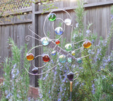 Butterfly - Glass Garden Sculpture by Diane Markin