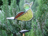 Stain Glass Bird