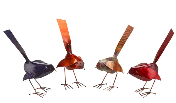 Copper Bird Standing
