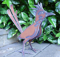 Roadrunner Bird Garden Art by Henry Dupere