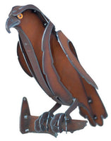 Hawk Metal Sculpture by Henry Dupere