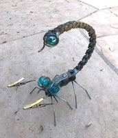 Scorpion -Large Metal Garden Sculpture by Yardbirds