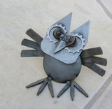 Owl - Metal Garden Sculpture by Yardbirds