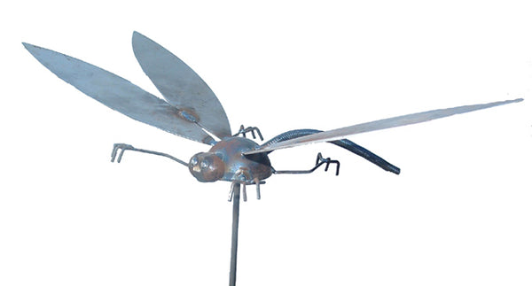 Dragonfly, Garden Sculpture by Artist Fred Conlon of Sugarpost