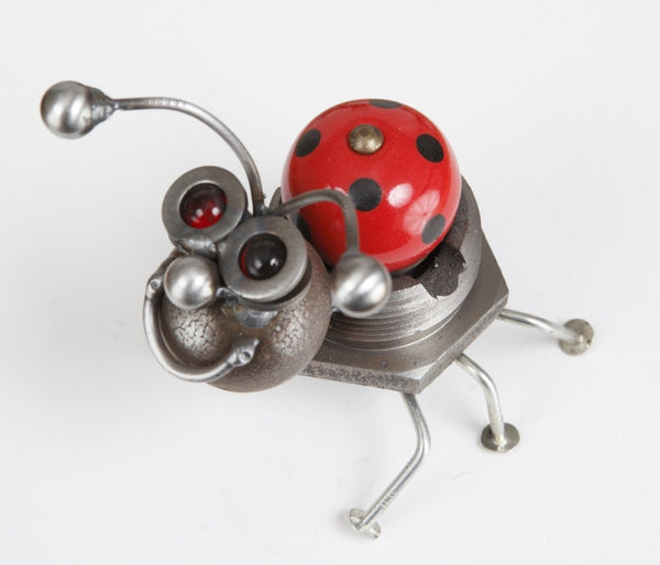 Ladybug - Metal Garden Sculpture by Yardbirds