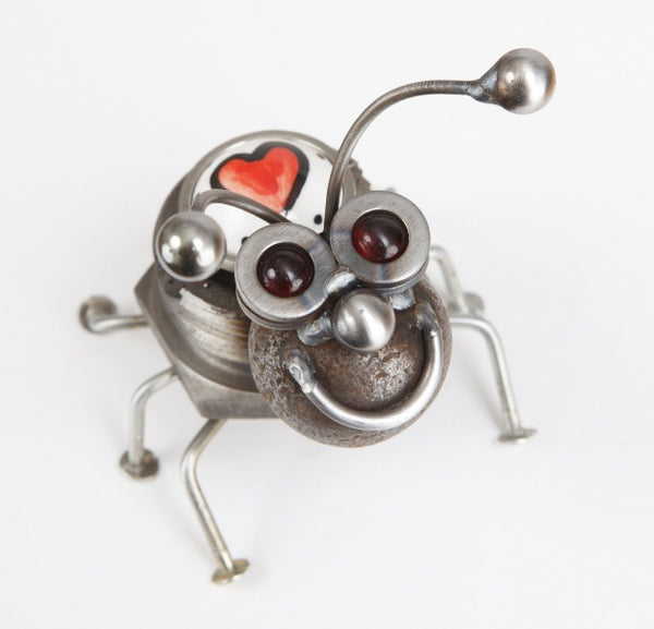 Love Bug- Metal Garden Sculpture by Yardbirds