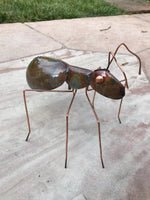 Ant Copper Sculpture by Haw Creek Forge