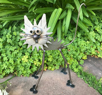 Cat - Metal Garden Sculpture by Yardbirds