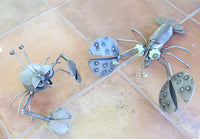 Loch Lobster - Metal Garden Sculpture by Yardbirds