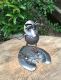 Frog Playing Guitar - Metal Garden Sculpture by Yardbirds