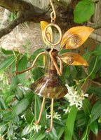 Garden Fairy - Copper Sculpture by Haw Creek Forge