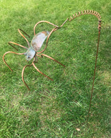 Spider - Copper Sculpture by Haw Creek Forge