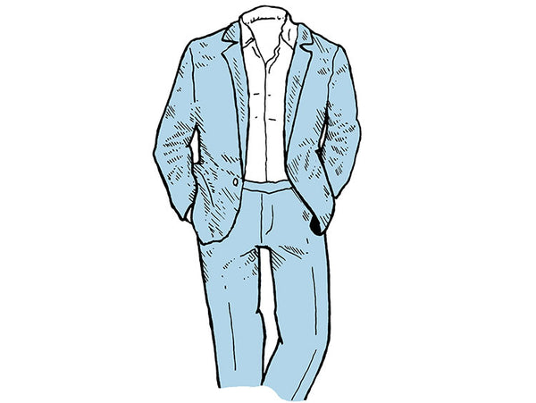 How to wear a suit in Summer
