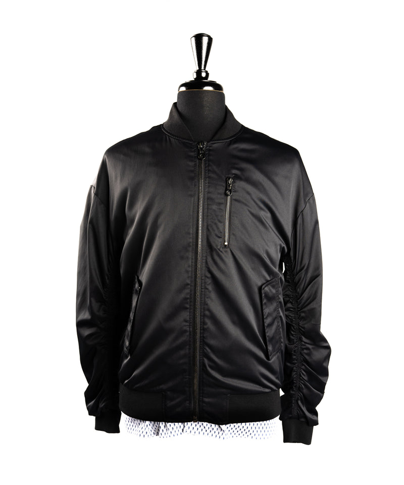 Clive Bomber Jacket - BLACK