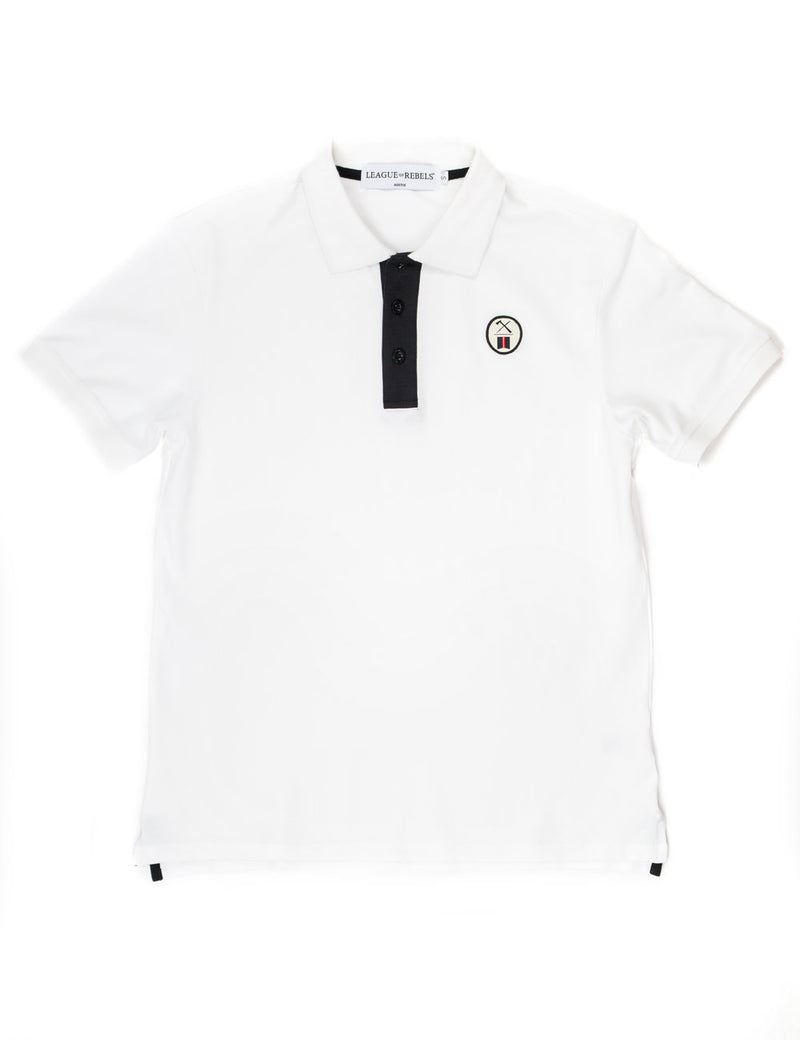 Essential White Polo