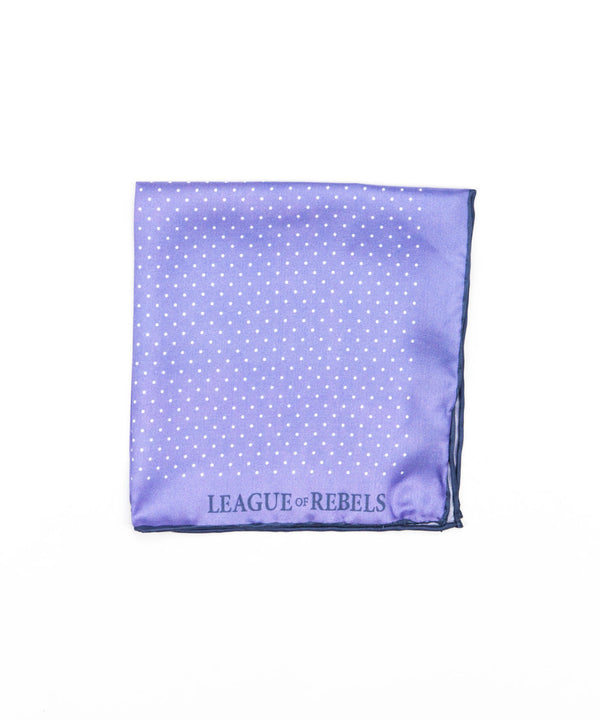 Lavender Dots Pocket Square