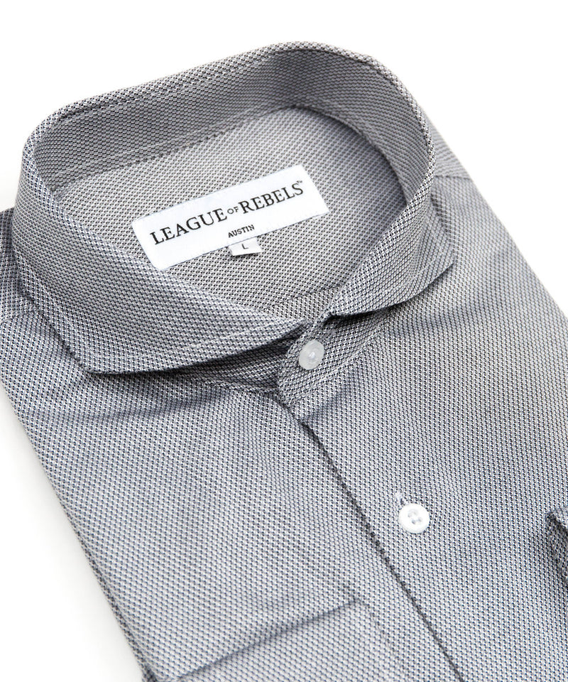 Bixby Silver Dress Shirt