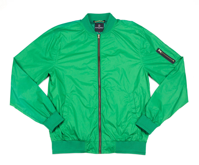 Green Down Jacket
