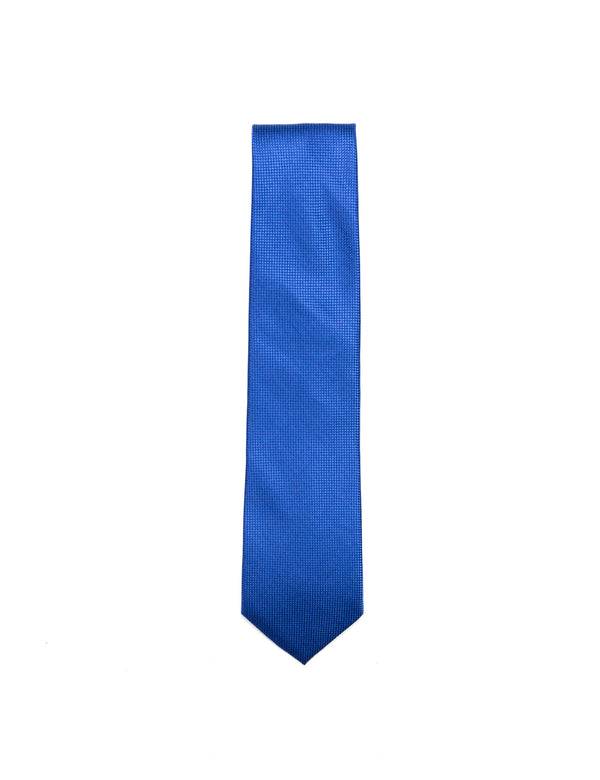 Solid Blue 'Wide' Necktie