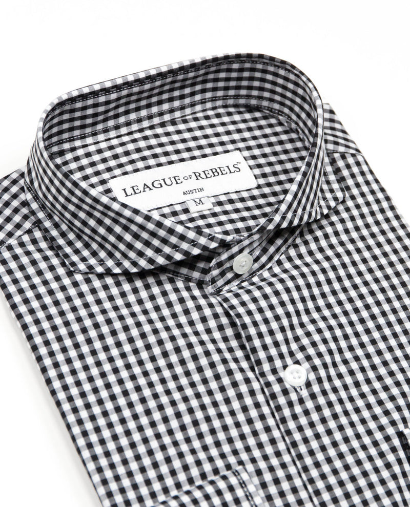 Bixby Black Check Shirt