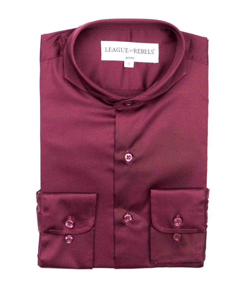 Bixby Oxblood Shirt