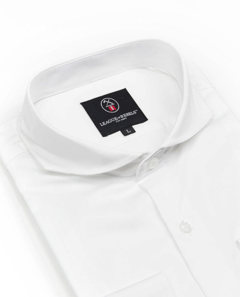 Bixby Essential White Shirt