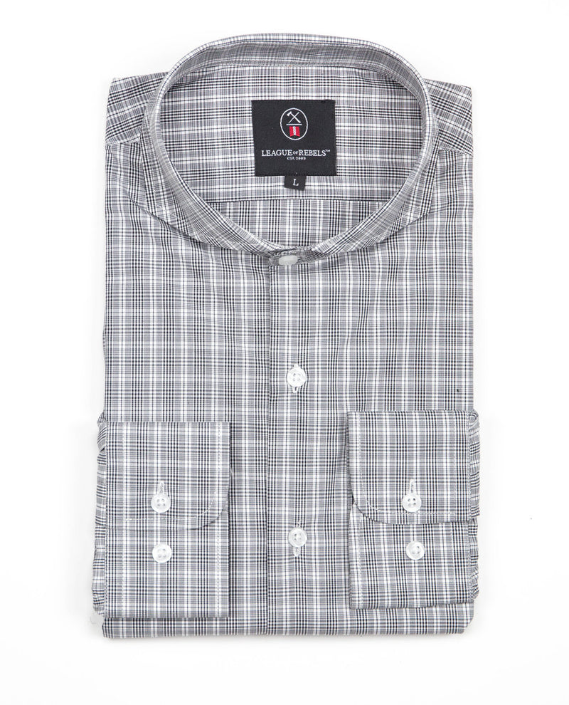 Bixby Dark Plaid Shirt