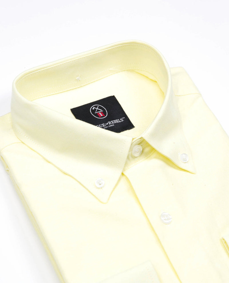 Oxford Shirt - Yellow