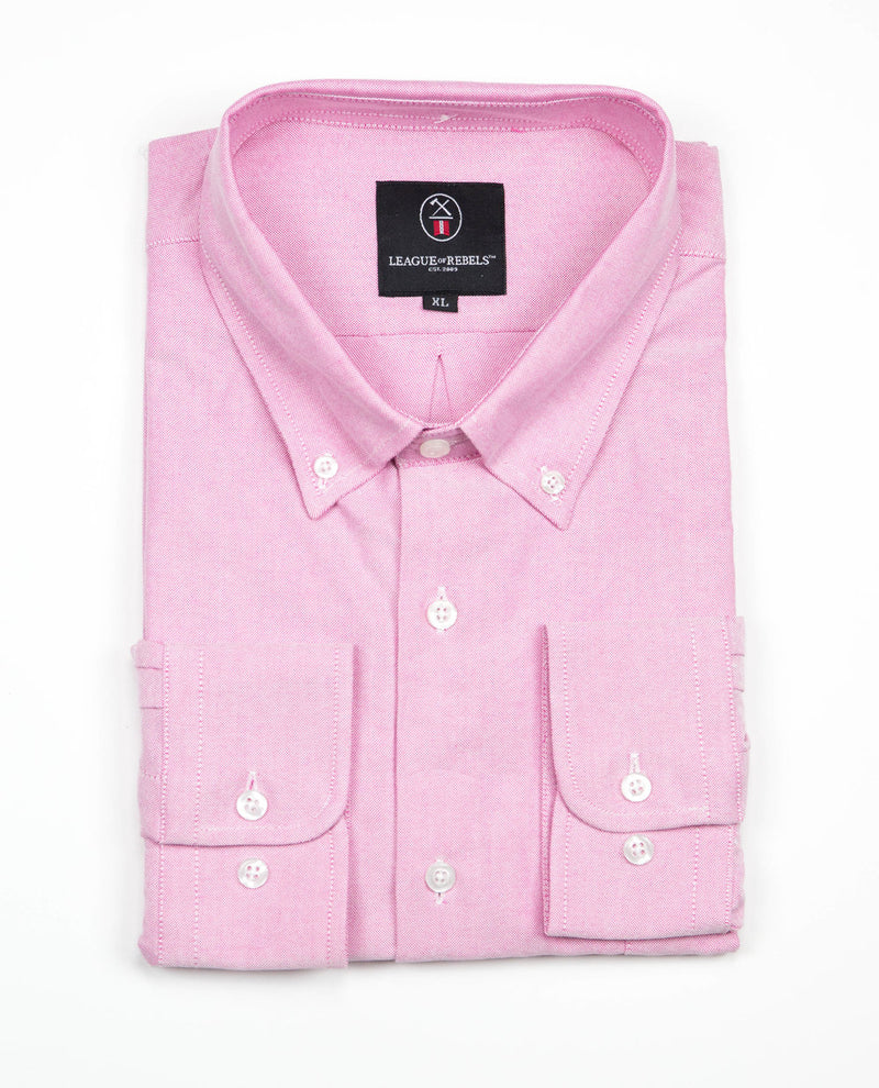 Oxford Shirt - Salmon