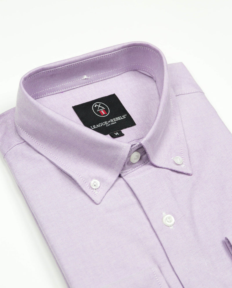 Oxford Shirt - Purple